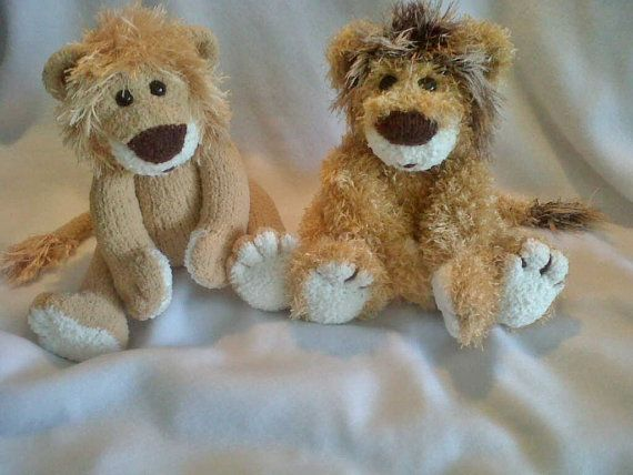 Lester The Lion Knitting Patterns Etsy And Pdf