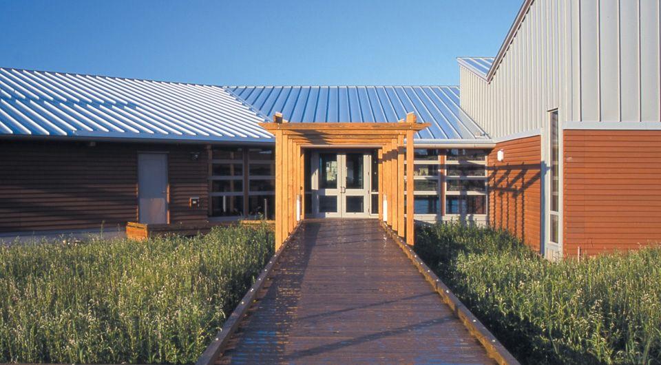 Best Englert Metal Roof In Dove Grey U S Fish Wildlife 400 x 300