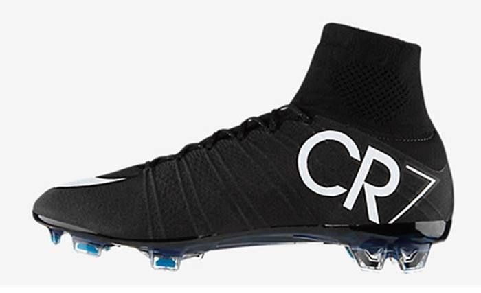 Nike Mercurial Superfly Cr7 Fg Soccer Cleats Football Boot Shoes Black Turquoise