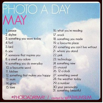 Photo a day! Gonna start tomorrow ;) better late than never!