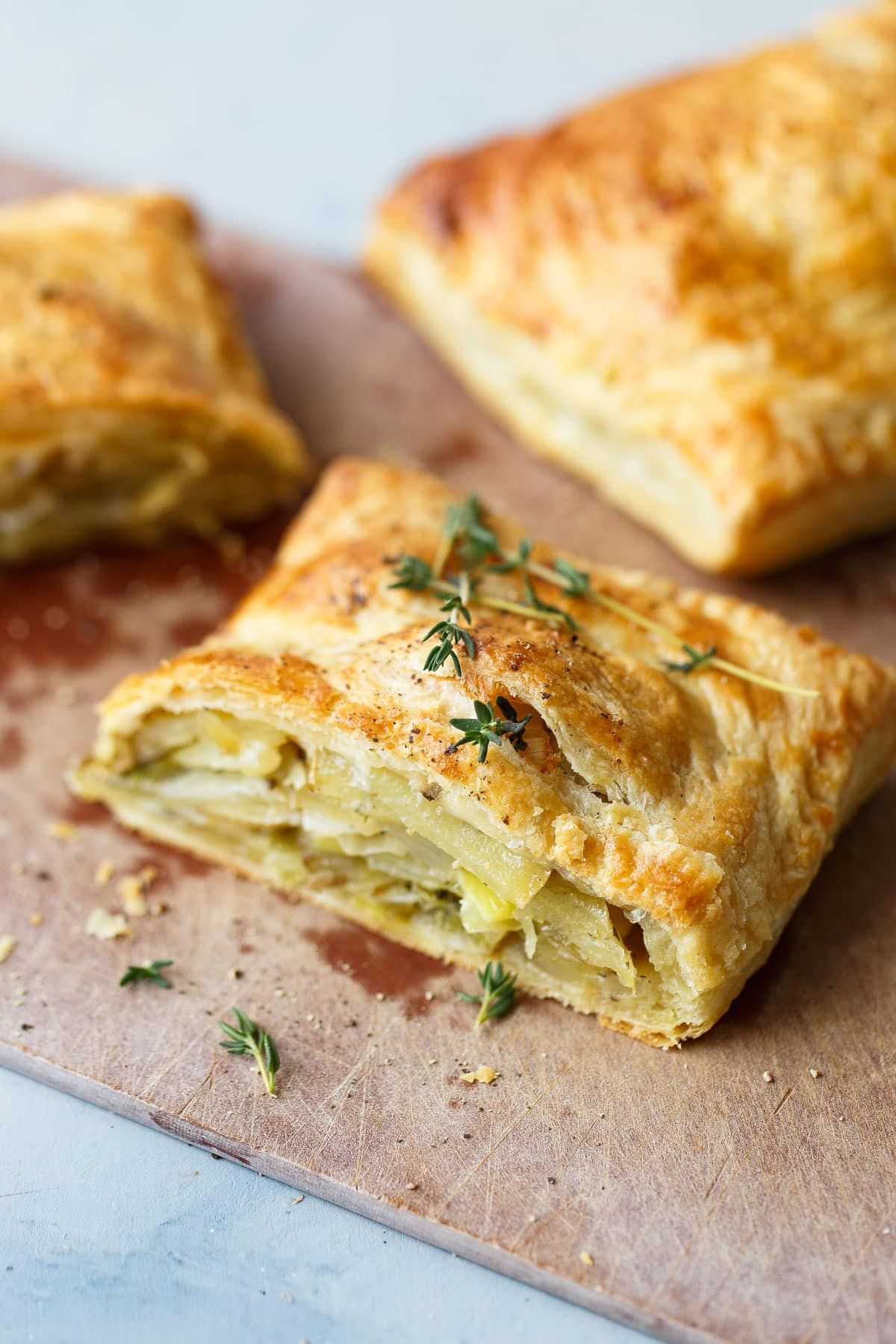 Potato Leek Cornish Pasty Recipe Cornish pasties
