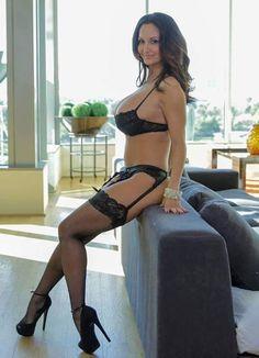 wife Mature lingerie milf
