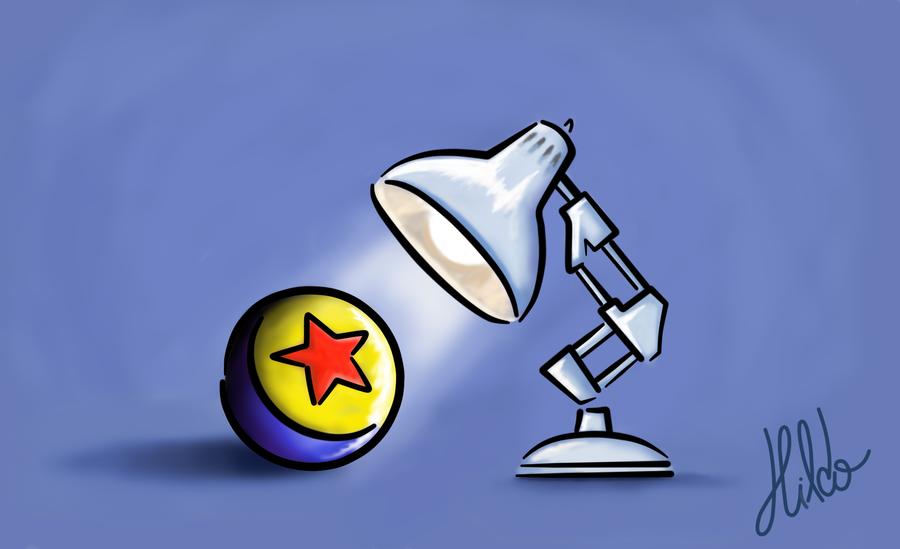 Center Piece Pixar Lamp Pixar Characters Pixar Shorts