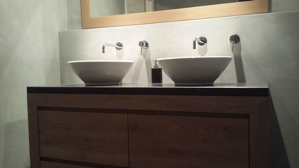 Afbeeldingsresultaat voor badkamer beton cire