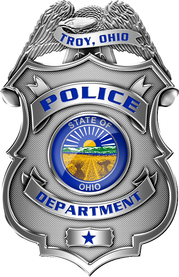 Troy PD OH | LE badges | Fire badge, Badge logo, Police patches