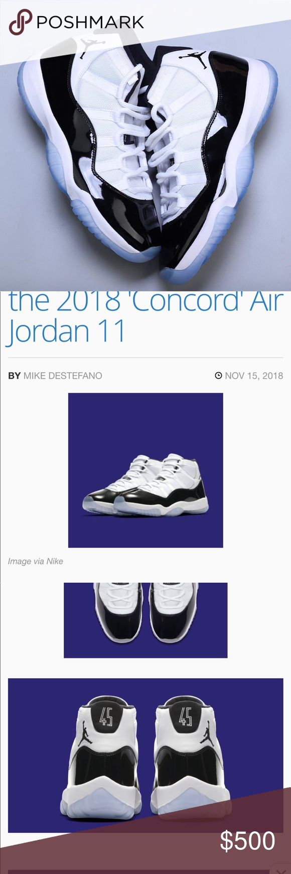 8b3a15dd3cb055 Not released yet Jordan Retro Concords Jordan Brand will be returning  another all-