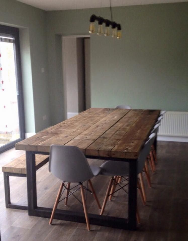 RCC Furniture · Metal Dining TableIndustrial Dining TablesTimber TableDining  Room ...