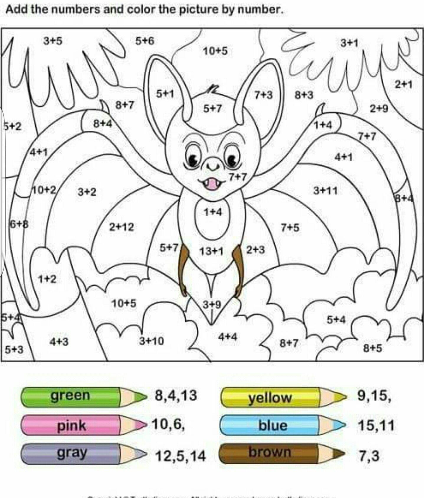 Maths Colouring