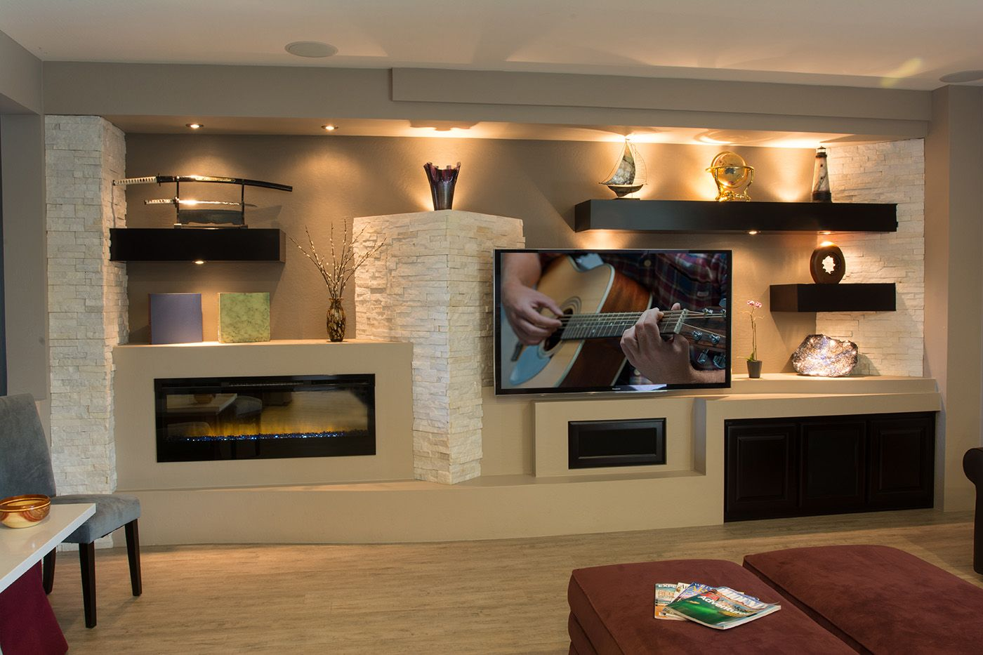 Fireplace Wall Units 14 Breathtaking Gypsum Board And Niches For Tv Wall Unit My