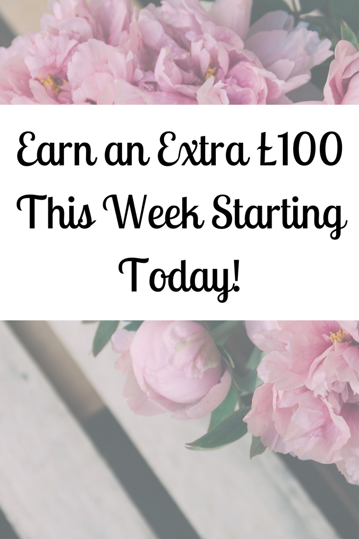 Make an Extra £100 This Week | Extra money, Online earning and Bank ...