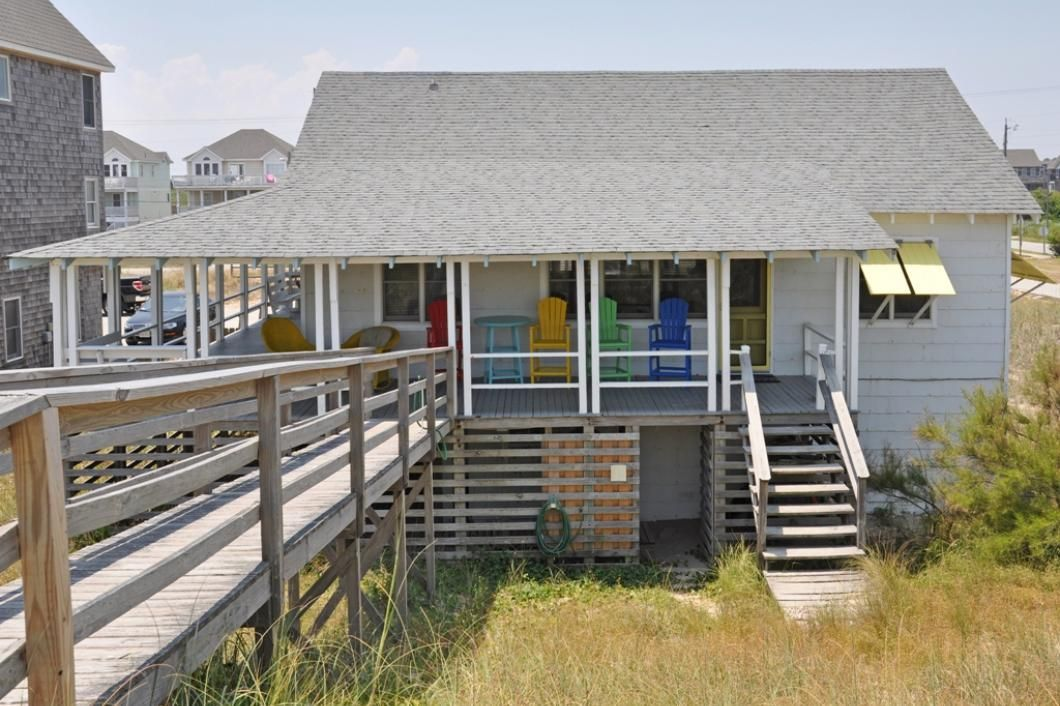 mann cottage jr10 oceanfront in nags head 3 bedrooms 1 full bath rh pinterest com