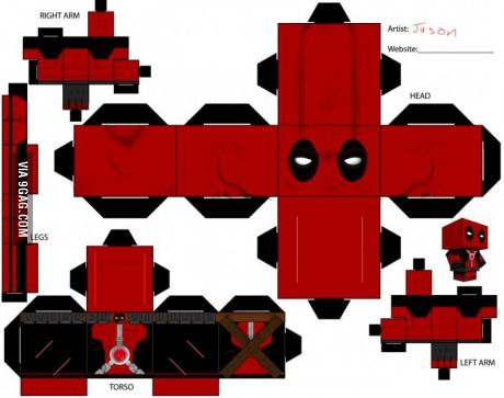 For all you Deadpool Fans (found it while cleaning my Pc)