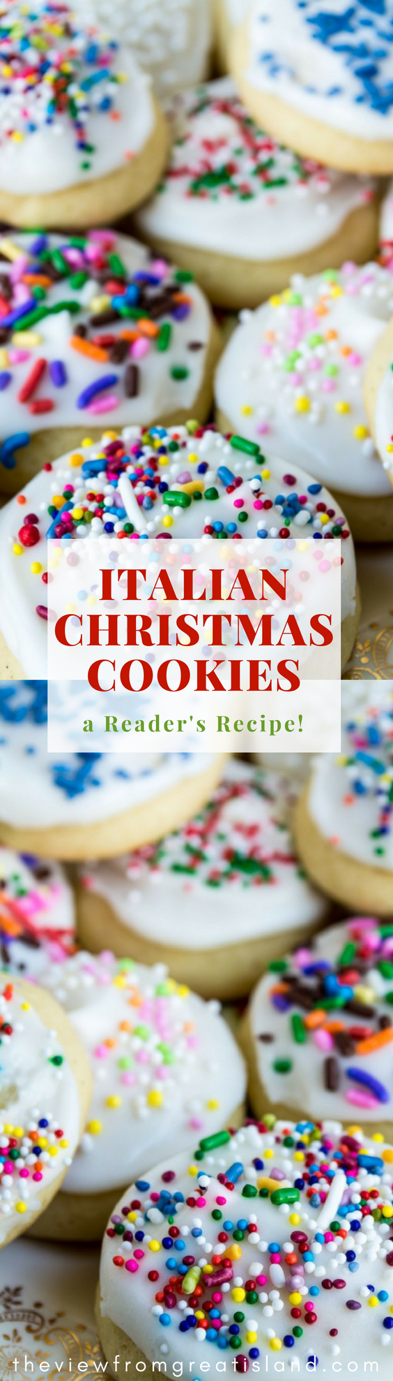 Reader\'s Recipes: Italian Christmas Cookies ~ these classic holiday ...