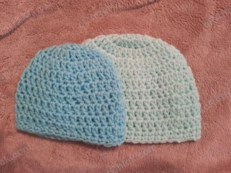 Free crochet baby hat patterns baby infant sized newborn 3 easy peasy baby infant sized newborn 3 months double crochet beanie hat pattern crafterchick free crochet patterns and projects dt1010fo