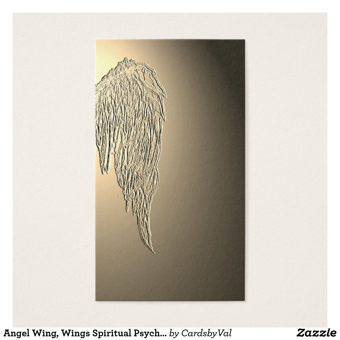 Angel Wing, Wings Spiritual Psychic Business Cards | Business Cards ...