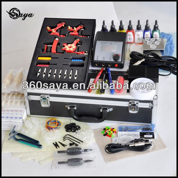 New Arrival Best Selling Beginner Tattoo Gun Kit $60~$65 | Tattoo ...