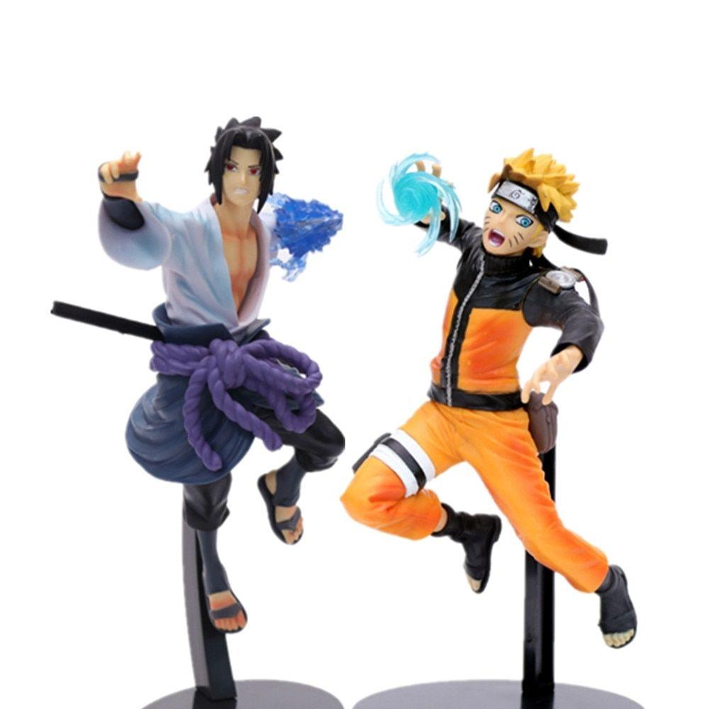 Uzumaki Naruto Sasuke Pvc Action Figures Toys 230mm Anime Naruto