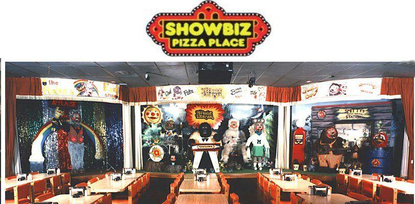 Showbiz Pizza Place. Loved all the characters in The Rockafire Explosion: Billy Bob Brockali ,Fatz Geronimo, Mitzi Moz… | Showbiz pizza, Chuck e cheese, Battle tops