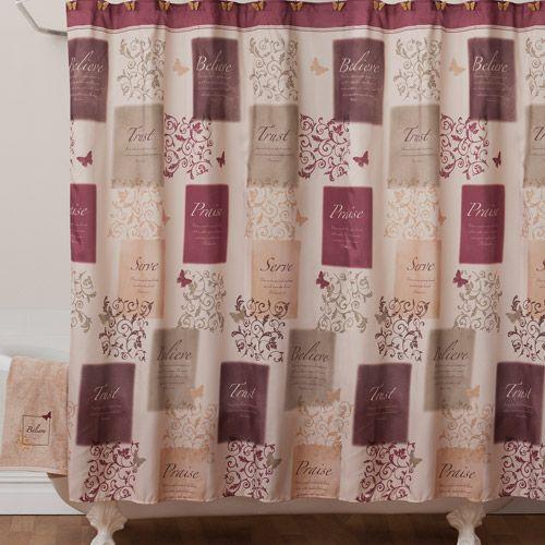 Hooks For Butterfly Blessings Shower Curtain Butterfly Shower