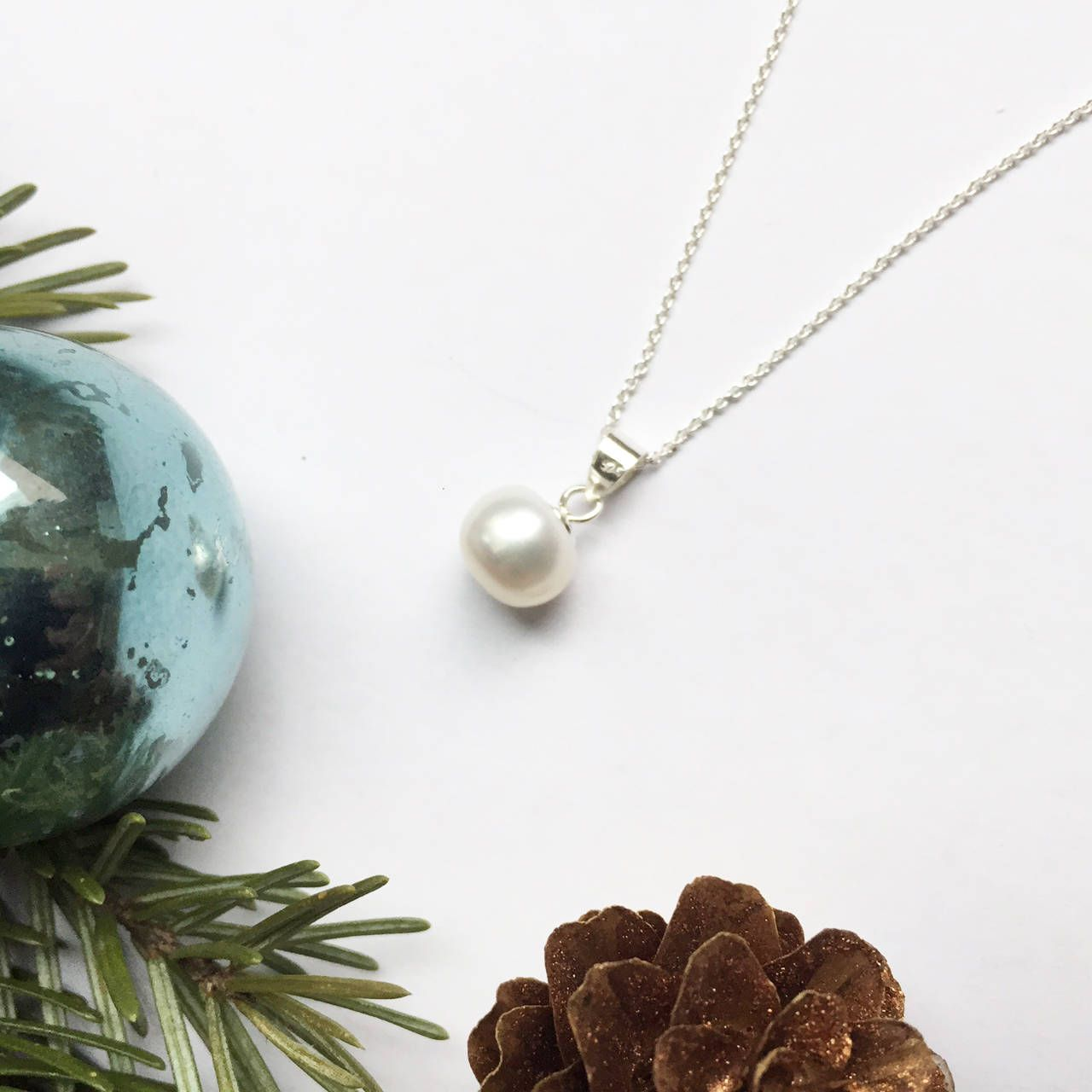 Today elegant pearl necklace etsy shop white fresh water pearl today elegant pearl necklace etsy shop white fresh water pearl jewellerygift for aloadofball Gallery