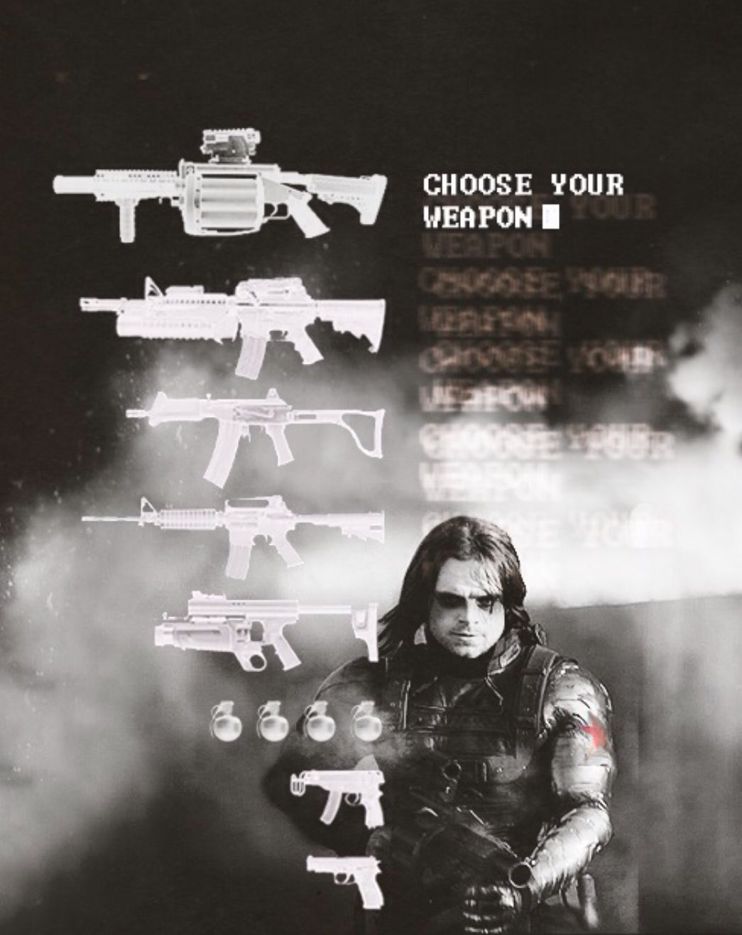The Winter Soldier/Bucky Barnes. TOO MANY FEELS JUST STAHP