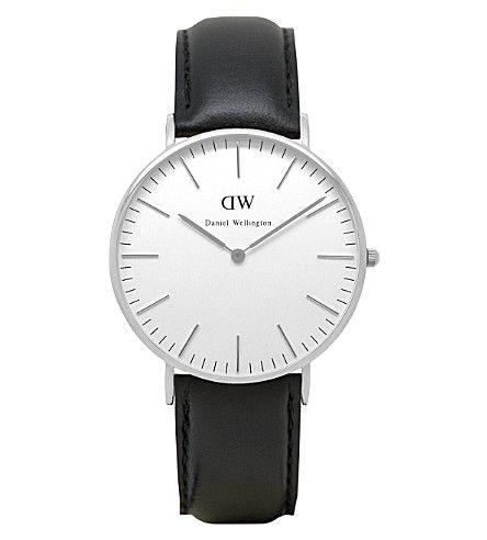 DANIEL WELLINGTON Classic Sheffield stainless steel watch 36mm