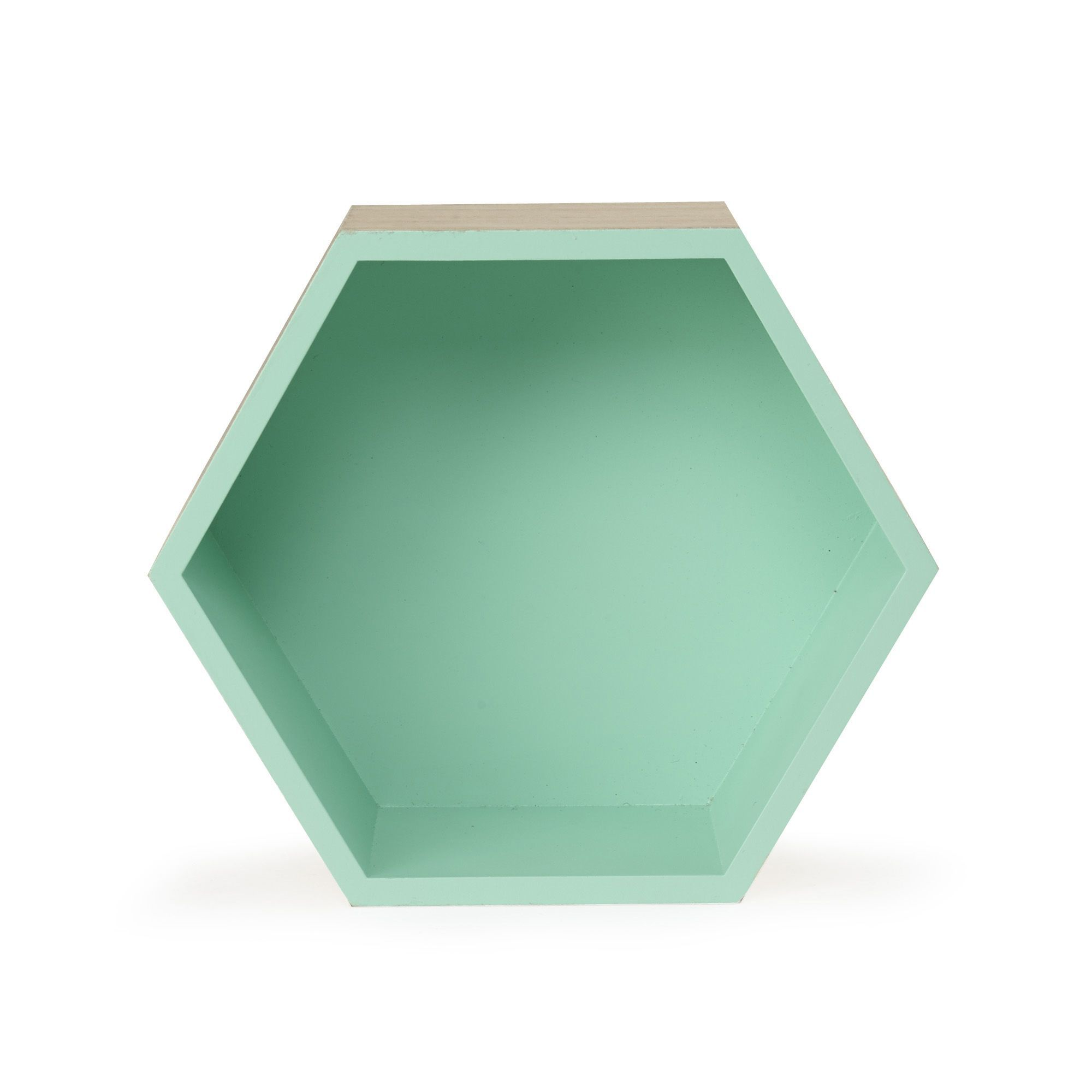 Etag re hexagonale grand mod le vert rush tag res - Modele d etagere murale ...