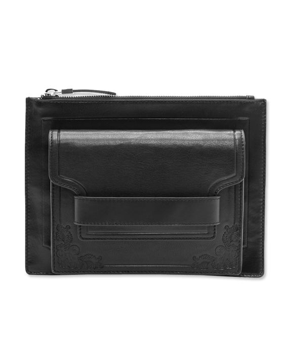 A Chic New Way To Carry a Clutch