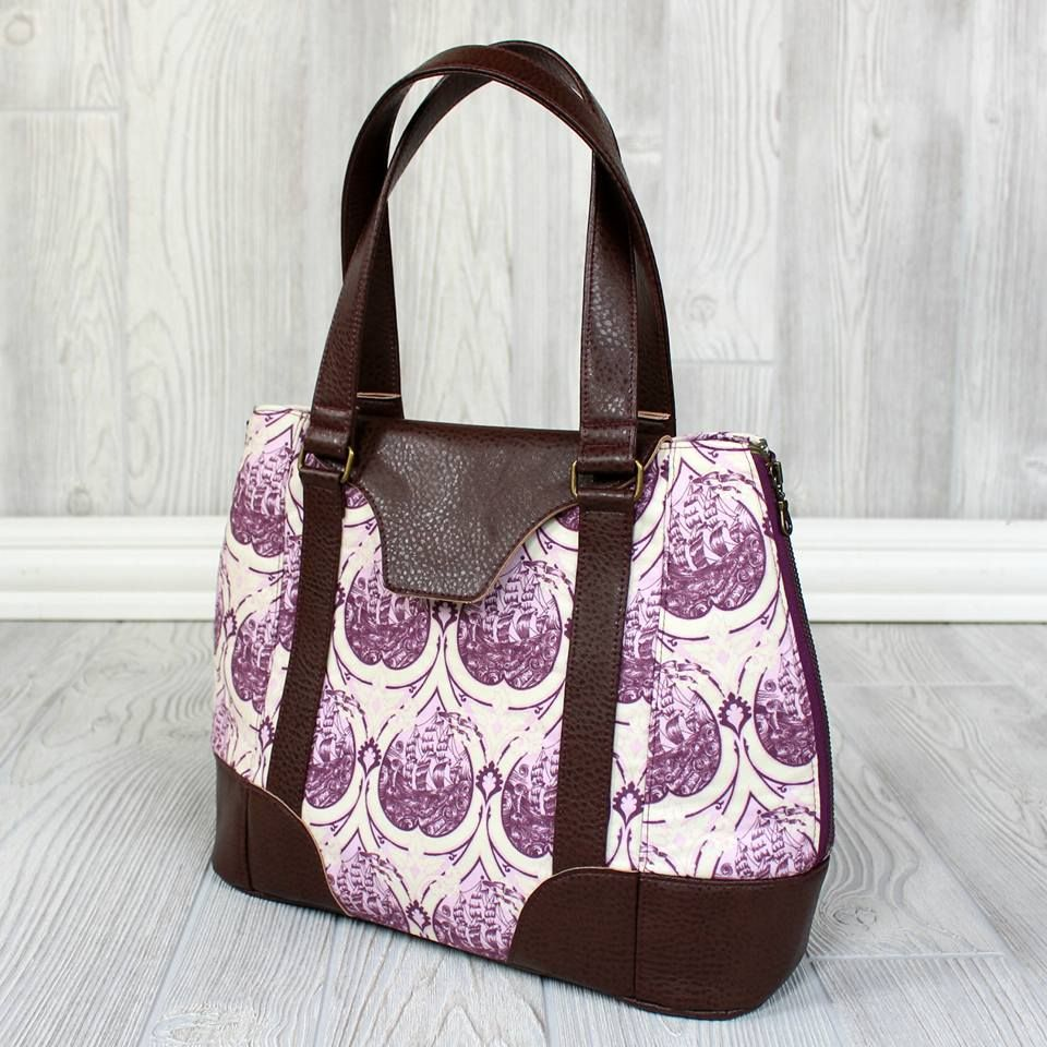 9a38df9f095b Swoon Sewing Patterns - Harriet Expandable Tote