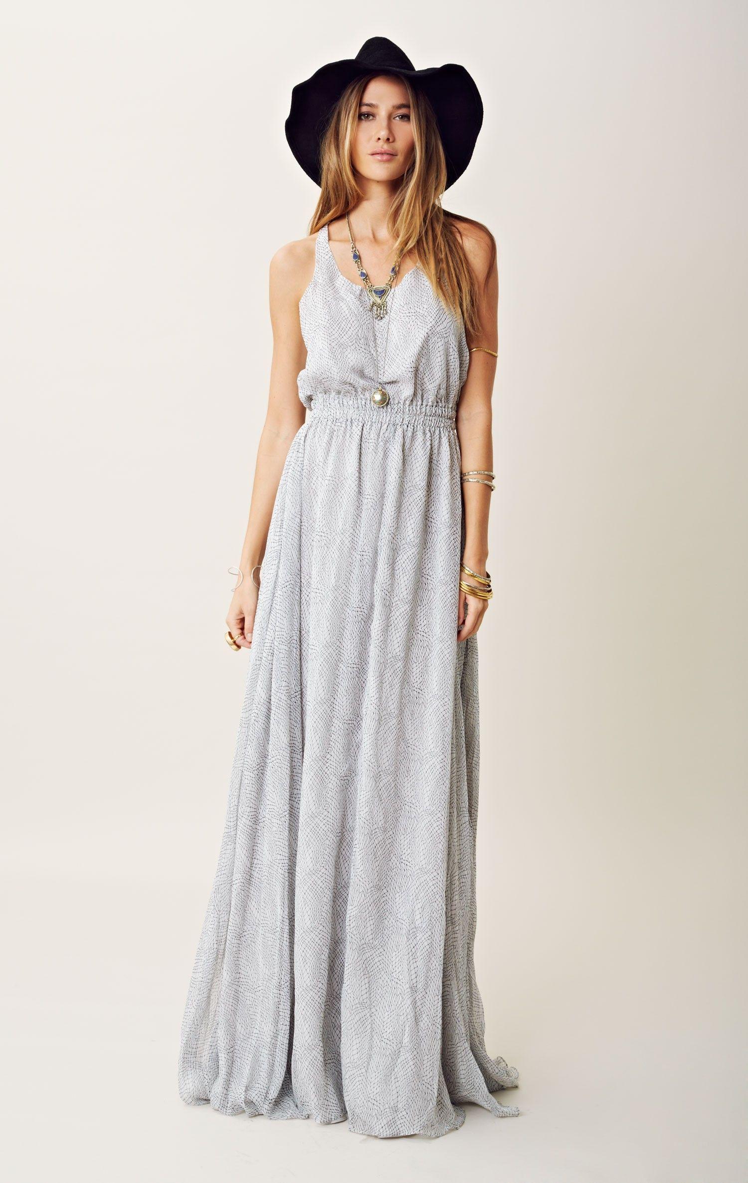 Silk racerback fancy maxi dress fancy hippie boho and maxi dresses