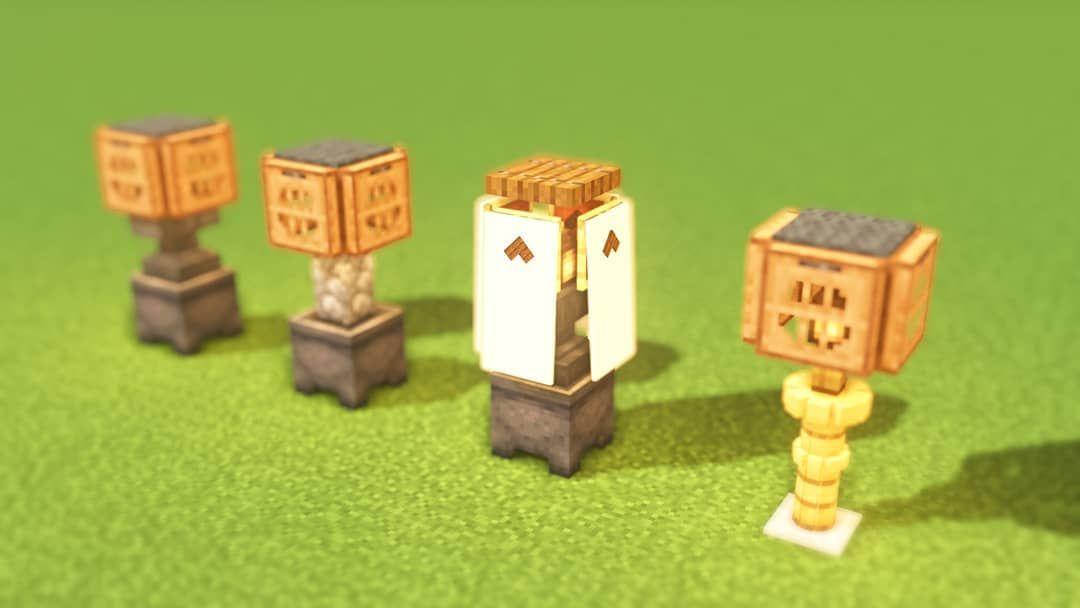 981 Gilla Markeringar 1 Kommentarer Seven Seven85654 Pa Instagram Japanese Style Lantern Tour Minecraft Crafts Minecraft Designs Minecraft Construction