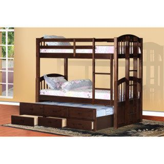 Cameron Twin Over Twin Bunk Bed With Trundle And Drawers Home