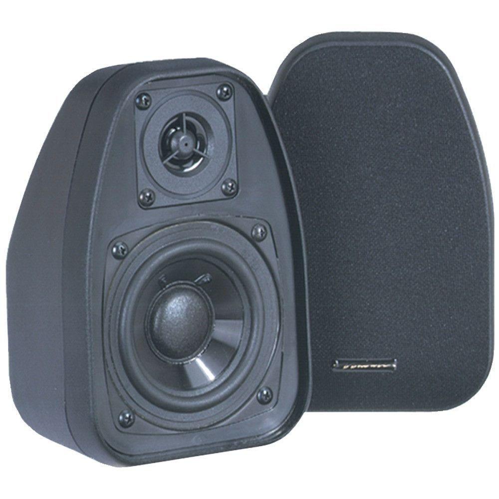 "Bic Venturi 3.5"" Bookshelf Speakers (black)"