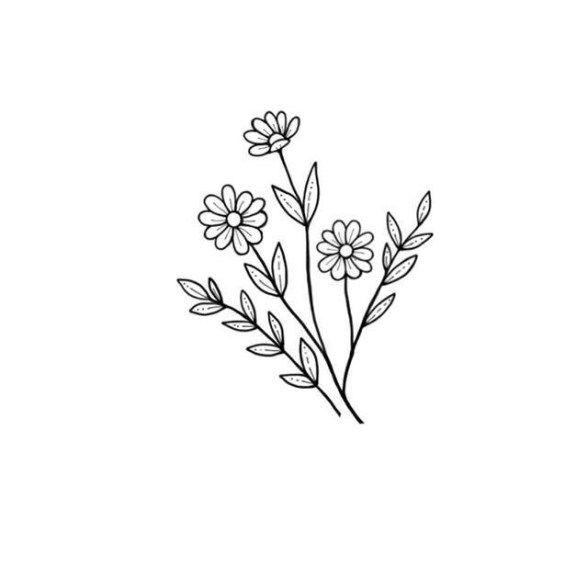 25 Beautiful Flower Drawing Information Ideas Brighter Craft Beautiful Flower Drawings Flower Drawing Daisy Drawing