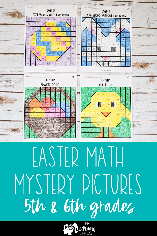 Easter Math Mystery
