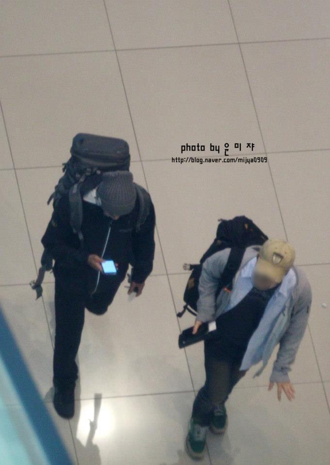 Aeropuerto Int de Incheon viajando a Hochimin,Vietnam 04.04.13