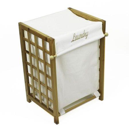 Howards storage world pine lattice laundry hamper - Howards storage ...