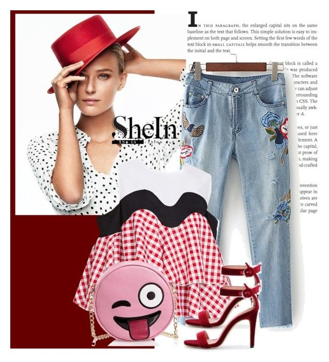 """shein"" by elmaimsirovicbge ❤ liked on Polyvore featuring Olivia Miller"
