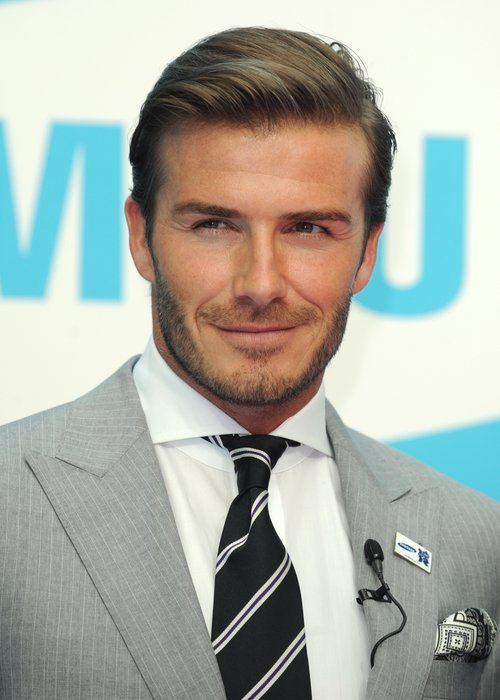 david beckham slick back hairstyles to try pinterest cheveux. Black Bedroom Furniture Sets. Home Design Ideas