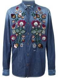 Resultado de imagem para dsquared2 embroidered jeans
