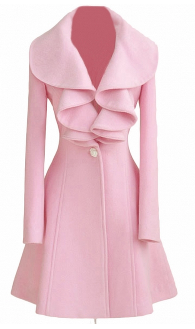 Love this pink trench coat 14f52100b