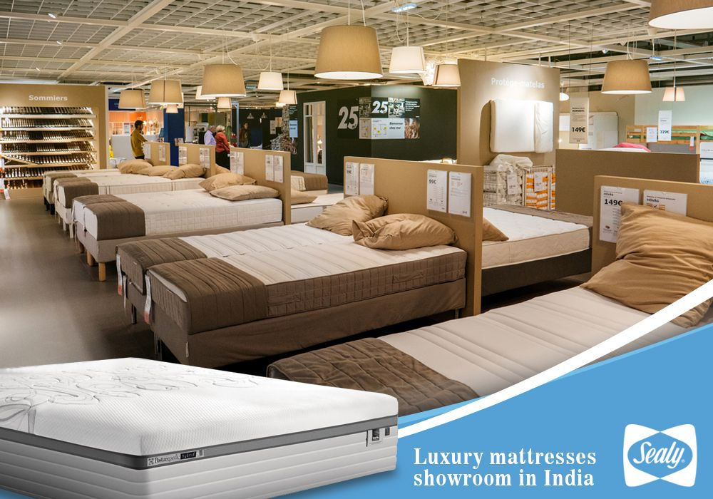 Find Luxury Right At Your Bedroom In 2020 Luxury Mattresses Mattress Showroom Mattress Companies