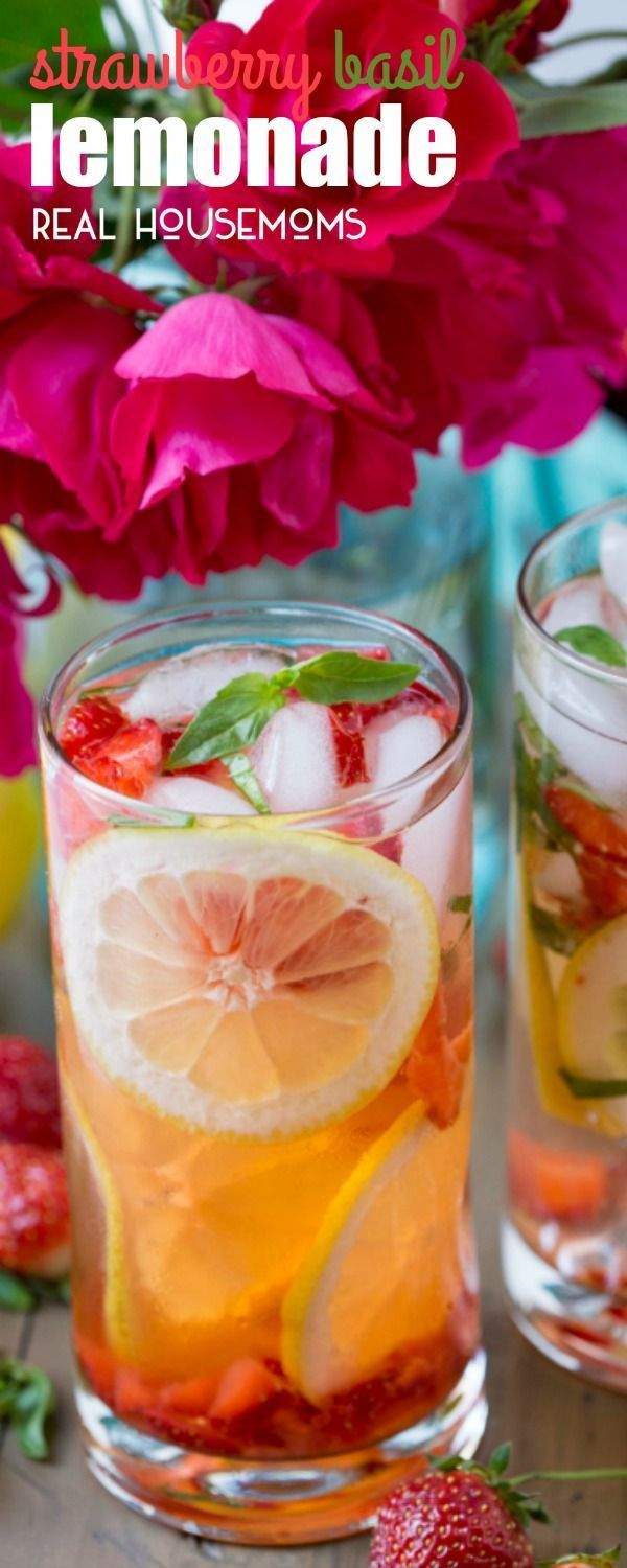 STRAWBERRY BASIL LEMONADE will be your favorite summer beverage! It's so eas... - Let's Eat Sweets! - #Basil #Beverage #Eas #Eat #Favorite #it39s #Lemonade #Lets #Strawberry #Summer #sweets #basillemonade STRAWBERRY BASIL LEMONADE will be your favorite summer beverage! It's so eas... - Let's Eat Sweets! - #Basil #Beverage #Eas #Eat #Favorite #it39s #Lemonade #Lets #Strawberry #Summer #sweets #basillemonade