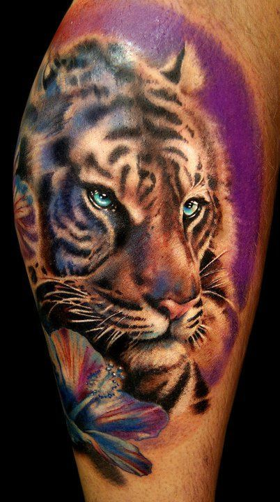 Espectaculares Tatuajes De Tigres Y Su Significado Tattos