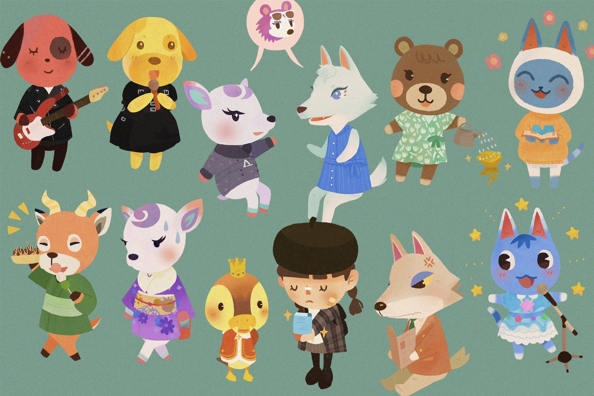 Pin on Animal Crossing New Horizons | Her Busy Day