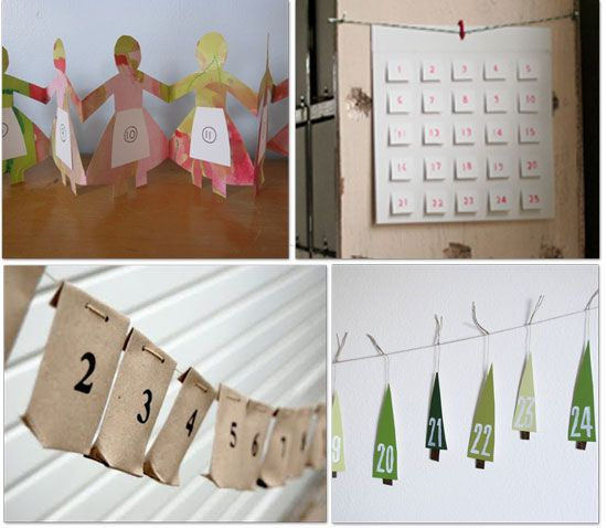 lots of great Advent calendar ideas and links at tip junkie advent