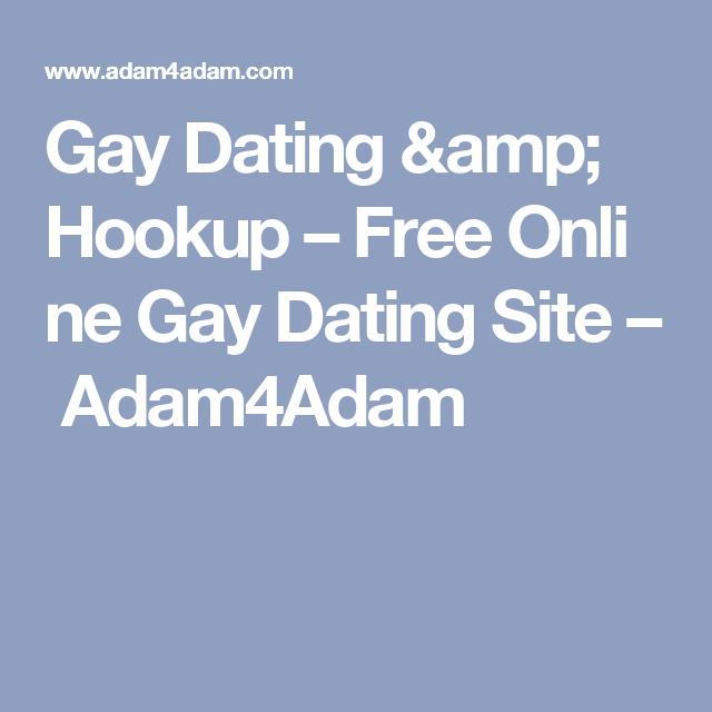 Free gay hookup sites online