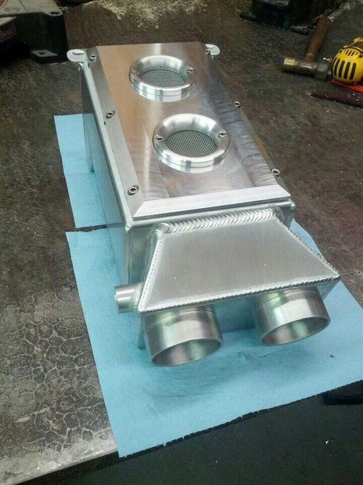 Custom Air Box Sheet Metal Fabrication Welding Aluminum Metal Shaping