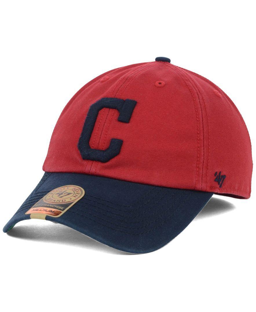 47 Brand Cleveland Indians Bp Franchise Cap Reviews Sports Fan Shop By Lids Men Macy S Cleveland Indians Cleveland Indians Hat 47 Brand