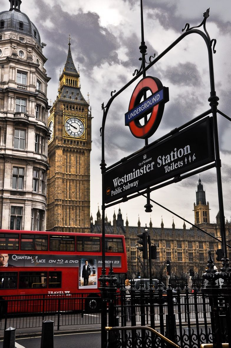 Three symbols of London. You must experience the Underground but for my money using London Transport bus service is so much better. Great service and you get to see so much more of London. get an Oyster card and go go go.